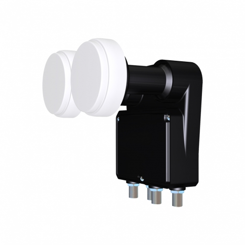 Inverto Black Mono Quad Monoblock 23mm 0.2dB LNB 6° Astra HotBird