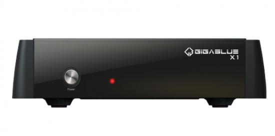 GigaBlue HD X1 Linux Full HD HDTV Receiver USB 1x DVB-S2