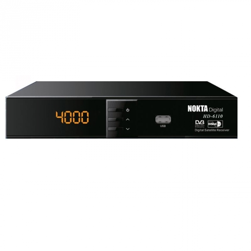 Nokta Digital HDTV 6110 FTA Sat Receiver USB