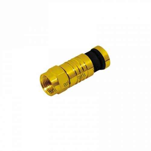 ARLI F - Kompressionsstecker vergoldet 7-7,5mm 100er Pack