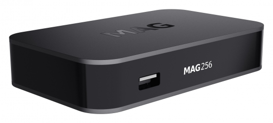 MAG 256 IPTV Multimedia Streamer HEVC Box HDMI USB Full HD