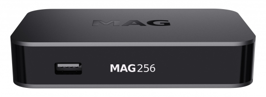 MAG 256w1 intern 150Mbit Wlan BOX Player IPTV Internet TV Box Multimedia USB