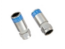 100-er Pack Cabelcon F-56-CX3 5,1 HQ F-Kompressionsstecker