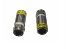 100-er Pack Cabelcon F-59-CX3 4,9 HQ F-Kompressionsstecker