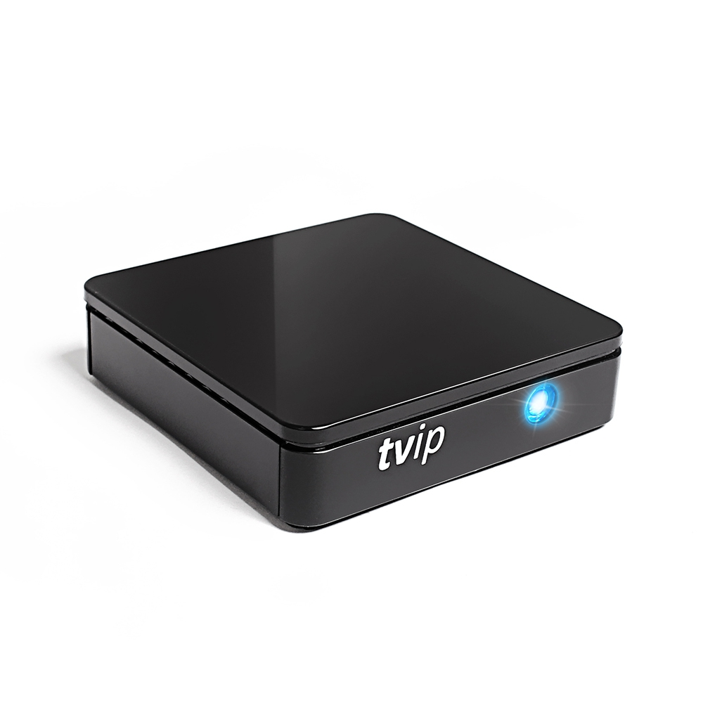 TVIP S-Box v.415 IPTV HD Multimedia Stalker Streamer 2.4/5GHz WLAN