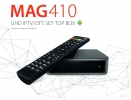 MAG 410 Android IPTV 4K 265 HEVC Multimedia Set Top Box HDMI USB Full HD Wifi